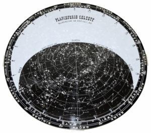 Un planisferio es esencial para empezar a conocer el cielo