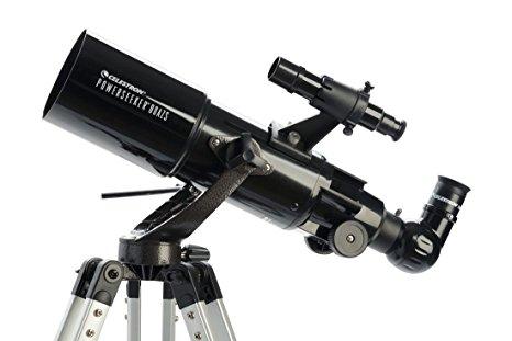 Telescopio Powerseekeer 80 mm Altacimutal