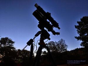Telescopios de aficionado