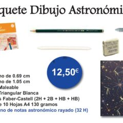 Oferta Dibujo Astronómico